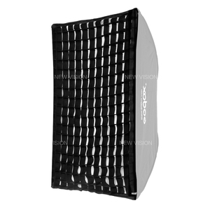 """Image 4 - Godox 60x90 cm/24 """"x 36"""" Photo Studio siatka o strukturze plastra miodu dla Strobe Flash parasol Softbox (60x90 cm siatka tylko)"""