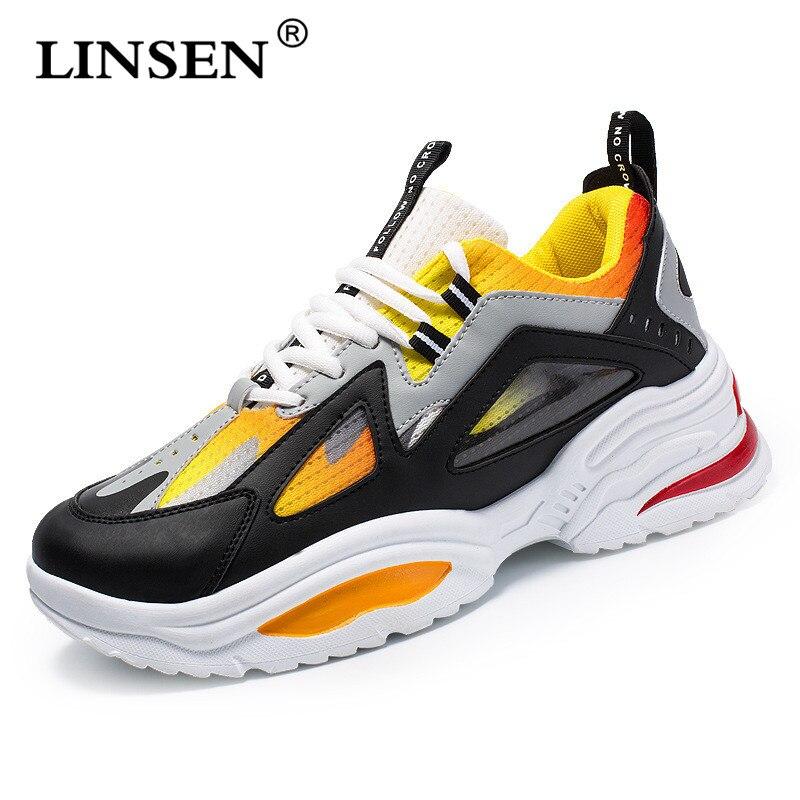 Offre spéciale 2019 Nouvelle Mode Hommes Maille Chaussures hommes baskets D'été sans lacet décontracté Respirant Chaussures Mocassins Chaussure Homme size39-44