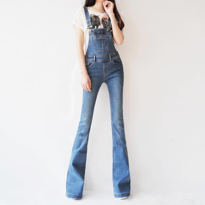 Kadın Giyim'ten Tulumlar'de Ücretsiz Kargo 2019 Çizme Kesim Kot Artı Boyutu 24 30 Pantolon Uzun Boylu Kadınlar Için Yüksek Kaliteli Tulum Tulum Ve tulum denim pantol'da  Grup 1