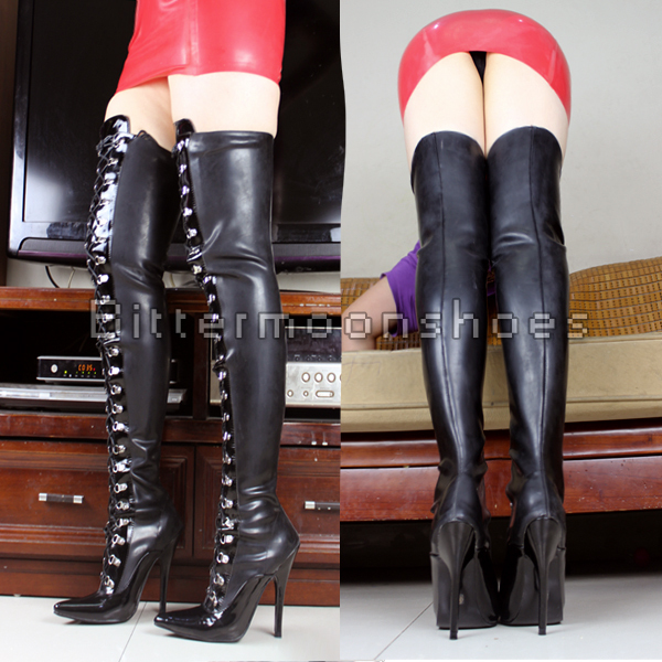 Online Get Cheap 4 Inch Thigh High Boots -Aliexpress.com   Alibaba ...