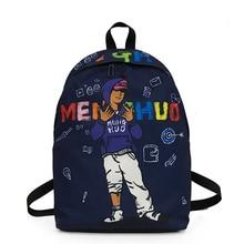 Men's Nylon Waterproof Backpack for Girls Female Shoulder Bag Women's Bagpack School Bags for Teenage Girls Mochila Feminina