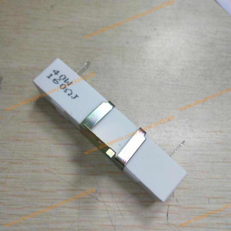 10PCS/LOTS 40W 160RJ Cement Resistance Ceramic Resistor Precision 5% Band Support