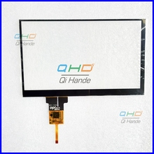 "Black New 7"" Inch 80701-1E3459B Capacitive touch screen panel Digitizer Glass Sensor Replacement For hyundai i40 Free Shipping"