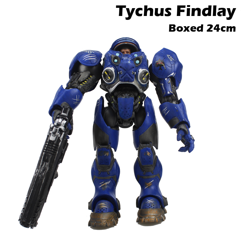 Free Shipping 10 Hot Game Tychus Findlay Boxed 24cm PVC Action Figure Collection Model Doll Toys Gift stock sale pvc dota crystal maide game doll action figure model toy for christmas gift 22cm free shipping