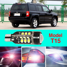 Error Free T15 Socket 360 Degrees Projector Lens LED Backup Reverse light R5 Chips Replacement Bulb For Jeep Liberty