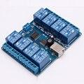 USB de $ number canales Módulo de Relé de 12 V 10A Auto-Placa de Relé de control