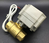 TFM15 B2 C New 2 Way Brass1 2 DN15 0 10V Or 4 20mA ProportionalValve DC9