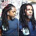 Kanekalon cabelo синтетического или искусственного locs dreadlock Ман Дреды Дреды вьющиеся крючком наращивание волос крючком боится