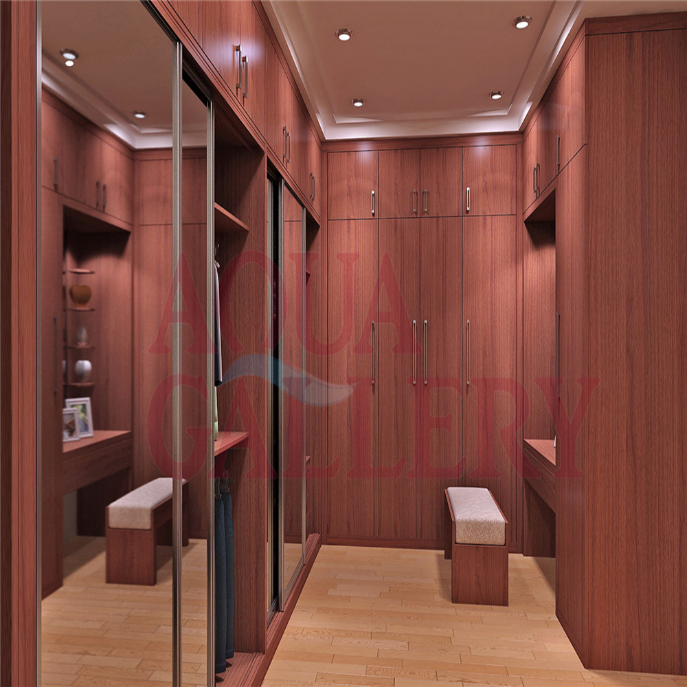 New Style Wine Red Glass Sliding Door Wooden Walk In Closet In Wardrobes  From Furniture On Aliexpress.com | Alibaba Group