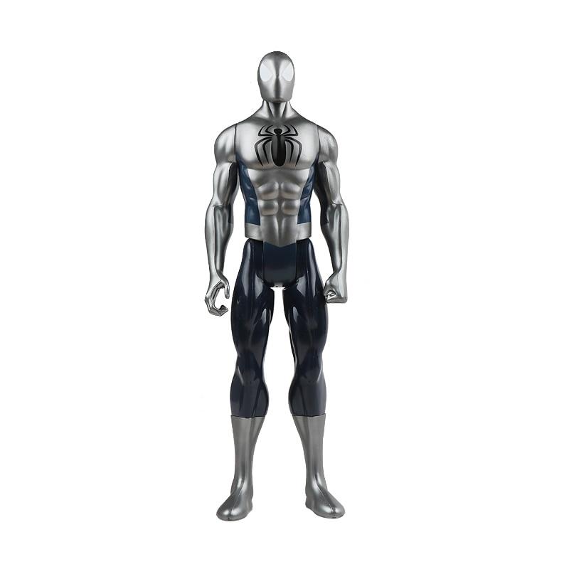 30 см Marvel Мстители игрушки танос Халк Бастер человек паук Железный человек Капитан Америка Тор Росомаха Черная пантера фигурка куклы - Цвет: 3spiderman no box