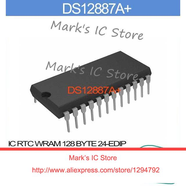 DS12887A+ IC RTC WRAM 128 BYTE 24-EDIP DS12887A 12887 DS1288 12887A DS128  12887A+