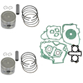 Engine Cylinder Piston Kit Set for Honda CA250 STD Bore Size 53MM Pin Clips Ring Rings New