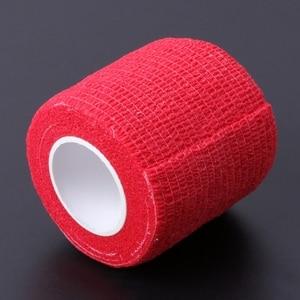 Image 4 - 6pcs Disposable Self adhesive Elastic Bandage for Handle Grip Tube Tattoo