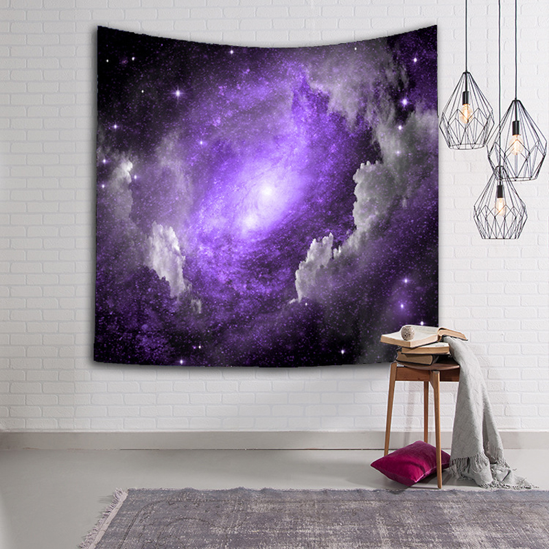 Indiane Mandala Tapestry Star Sky Printer Wall varur Tapestries Boho - Tekstil për shtëpi - Foto 5