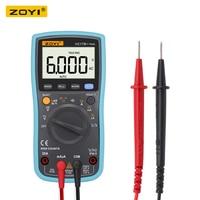 ZOYI electric meter multimeter digital high precision backlight voltmeter intelligent multi function repair table capacitance