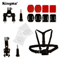 KingMa Sports Action Camera Accessories 4-in-1 Kits for Gopro Hero 4 3+ 3 Sj4000 Sj5000 Sj6000 Xiaomi yi Action Camera LM3435