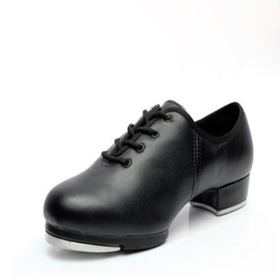 Human Leather Clogging Tap Shoes For