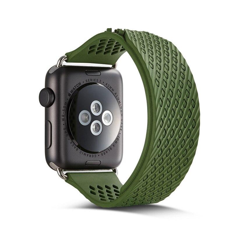 все цены на Correa de reloj sports silicone watch strap for 38mm rubber bracelet wrist band mens womens for watch 38mm smartwatch strap онлайн