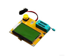 Free Shipping!! 3pcs LCR-T4 graphic / transistor tester / resistance capacitance / ESR / SCR /Electronic Component