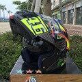 2016 Новый SHOEI 46 # Флип мотоциклетный шлем полный шлем мотоциклетный Шлем ATV Безопасности шлем с двумя объективами