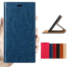 Aimak Brand Top Quality Flip Stand 100% Genuine Leather Case For Lenovo S8 A7600 Luxury Mobile Phone Cover