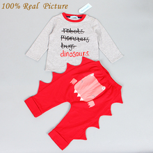 Bear Leader Baby Boy Clothing Set 2017 New Casual Baby Boy Clothes Cotton Stars (Hat + T-shirt+overalls)3pcs for Baby Rempers