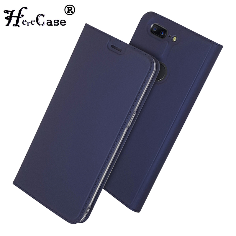 Case Oneplus 5t Wallet Book-Cover for Soft Pu-Stand Card-Slot 5-T-1