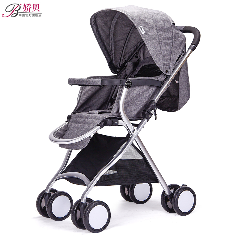 Baby Stroller Super Portable High View Easy To Folding Shock Absorber Baby Four Wheeled pram babysing high view baby stroller anti shock portable lightweight stroller easy fold pushchair travel system baby strolly