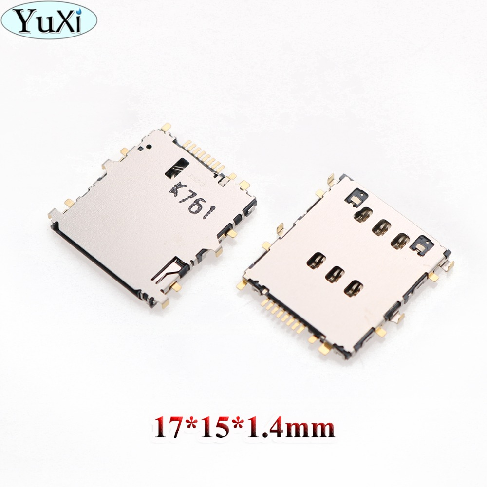 YuXi For Samsung T310 T311 SM-T311 Galaxy Tab 3 8.0 3G T210 T211 T310 T315 T111 SIM Reader SIM Card Socket SIM Card Slot