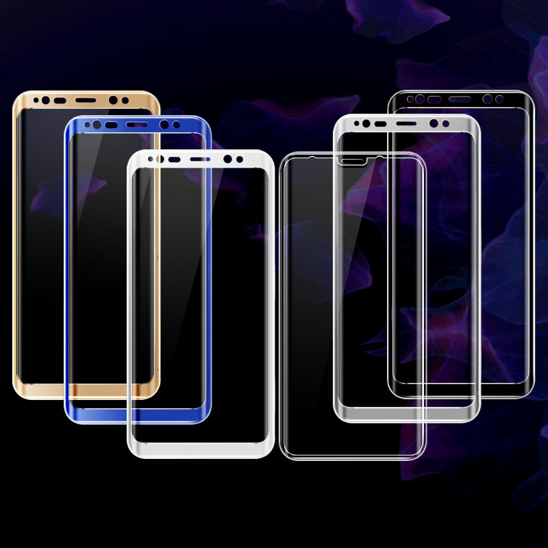 For Samsung Galaxy S8 Screen Protector iMAK 3D Full curved Tempered Glass Protective Film For Samsung Galaxy S8 Plus Glas Film
