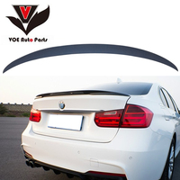 2012 Up F30 ABS Plastic Unpainted Primer Gray P Style Auto Car Rear Wing Lip Spoiler