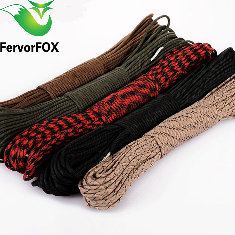 100 Meters 2mm One Stand Cores Hiking Clothesline Paracord For Survival Parachute Cord Climbing Camping Lanyard Camping Rope