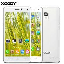 Xgody смартфон 5.0 дюйм(ов) 2 ГБ Оперативная память + 16 ГБ Встроенная память 4 ядра с 8.0 МП Камера Android 5.1 telefone Celular 3 г разблокирована сотовых телефонов