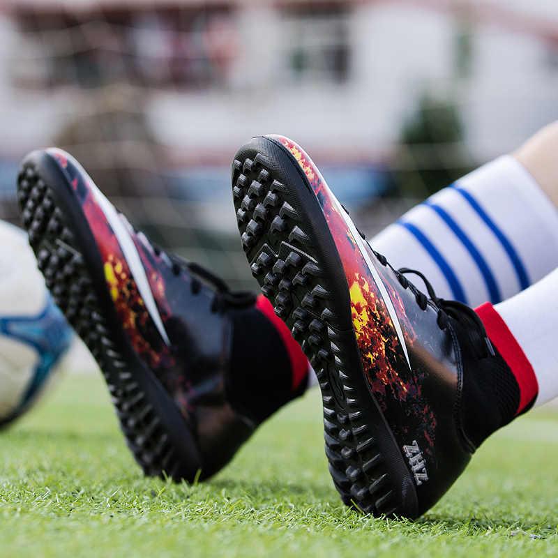 De tobillo De los hombres zapatos De fútbol Con calcetines Botas De fútbol para niños formación zapatillas De fútbol zapatos, Botas De Futbol Con tobillera
