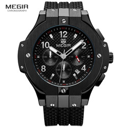 Megir Watch Sports Watches Men Luxury Brand Fashion Business Quartz Watches Sport Waterproof Watch Male Clock Man Wristwatch