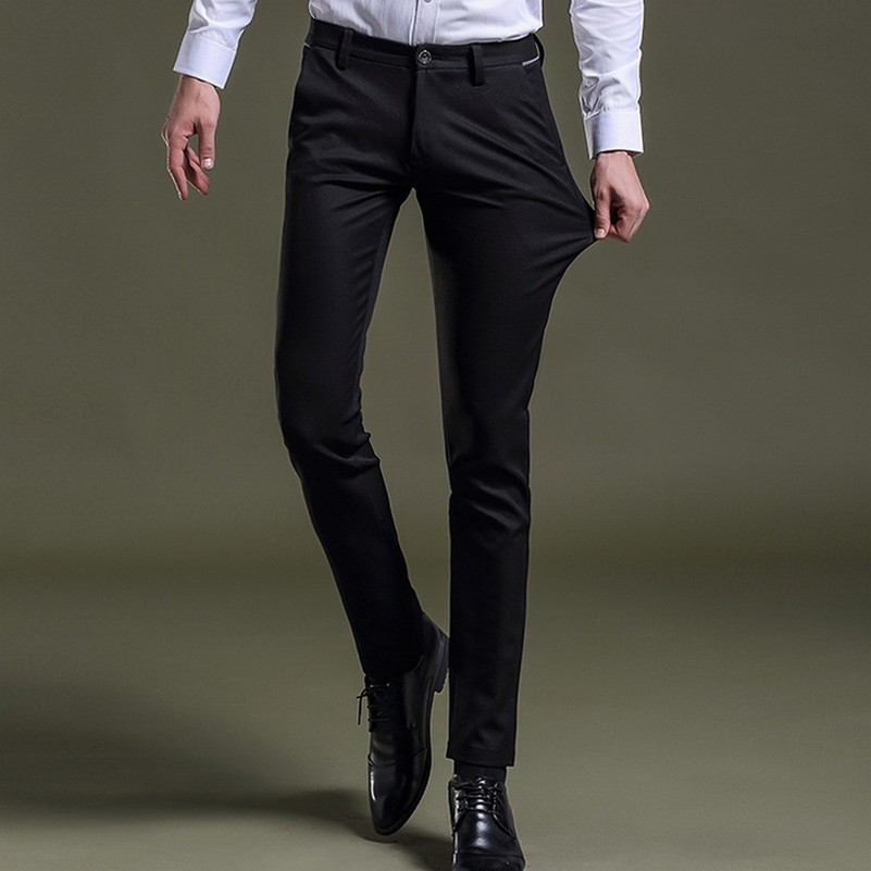 Stretchy Black Dress Pants | Gpant