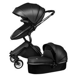 Wózek dziecięcy High landscape może siedzieć i leżeć składany lekki dwukierunkowy czterokołowy amortyzator 2w1 wózek dziecięcy w Lekki wózek od Matka i dzieci na