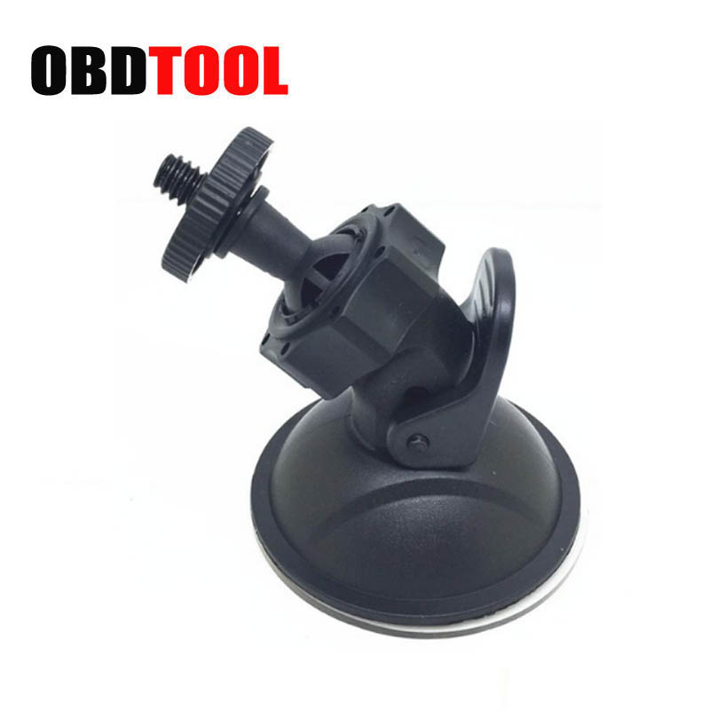 4mm Screw Head Vehicle Recorder Suction Cup Bracket Holder Universal Car GPS Dvr Stand Base Camera Mount JC10 yd2167 k 360 degree rotatable universal suction cup car mount holder bracket for gps pda black