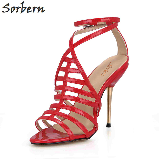 9e1149fe08fe Sorbern-Gladiator-Sandals-Women-Red-High-Heel-Sandals -Comfortable-11Cm-Stilettos-Metal-Gold-Heels-Sandalias-De.jpg 640x640.jpg