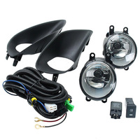 Mayitr 1 Set 2Pcs Front Bumper Fog Lights Left Right Lamp Switch For Toyota Yaris S