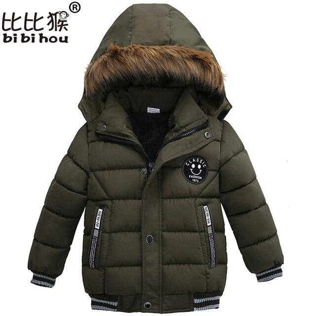 Рождественское пальто для малышей, детские теплые куртки осень-зима, верхняя одежда для девочек и пальто, зимняя одежда, парка для мальчиков, зимний комбинезон трикотаж со смайликом