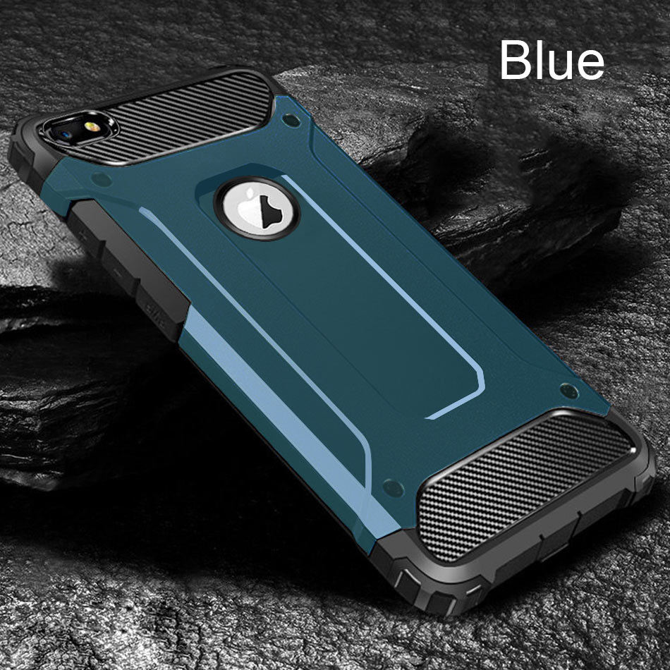 Luxury Shockproof Armor Case Cover On The For IPhone 8 7 6 6s Plus XR XS Max X Bumper Case For IPhone 11 Pro Max Soft Back Case