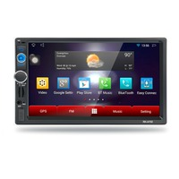 7 Inch Car DVD GPS Player Capacitive HD Touch Screen Radio Stereo 8G 16G INAND Rear