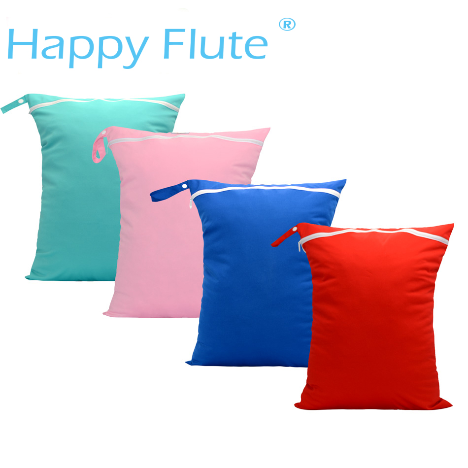 HappyFlute Colorful  42*50 Diaper Bag, Wetbag With Buklet