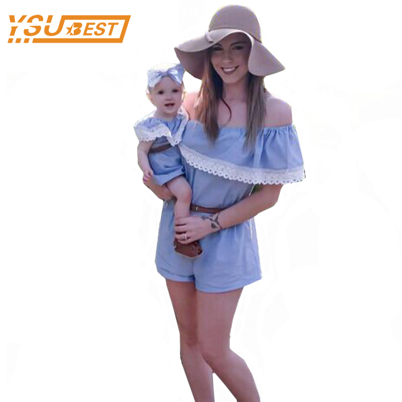 Mother Daughter Dresses New Summer Family Clothing Mom and Daughter Dress Family Matching Outfits Dress for Kids and Women 2017 summer children clothing mother and daughter clothes xl xxl lady women infant kids mom girls family matching casual pajamas