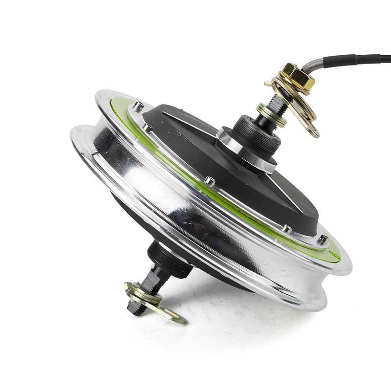 Koła elektryczny bezszczotkowy dla biegów silnik piasta dla 12 cal tylne koła przedniego silnika skuter elektryczny rower Ebike E-zestaw samochodowy części