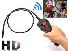 Envío Libre! HD 1280*720 P 8.5mm Lente WiFi Endoscopio Endoscopio Inspección de la Cámara DVR con 6 unids luces LED