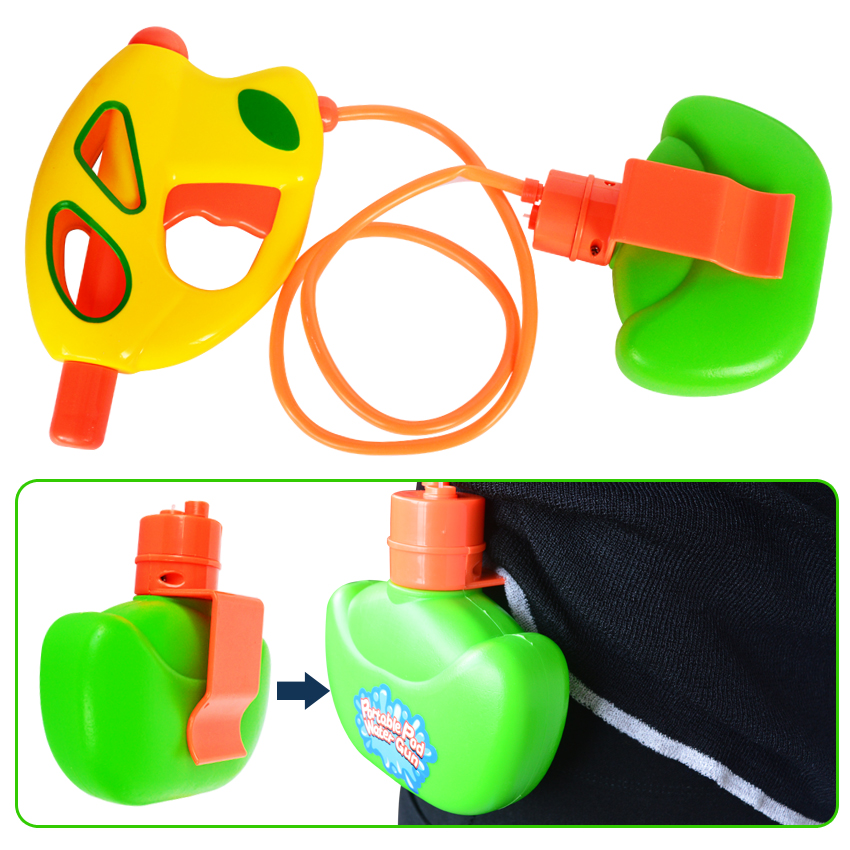Portable Water Gun Pressure Squirt Gun Water Pistol Blaster Shooter Toys For Children Summer Beach Game Summer Pools Toy