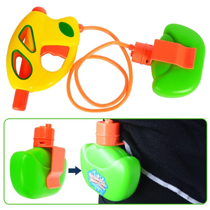 Portable Water Gun Pressure Squirt Gun Water Pistol Blaster Shooter Toys For Children Summer Beach Game Summer Pools Toy