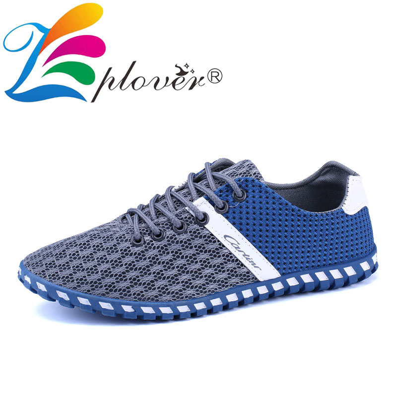 Summer Breathable Mesh Shoes Mens Casual Shoes 2018 New Lace-up - Men's Shoes - Photo 2